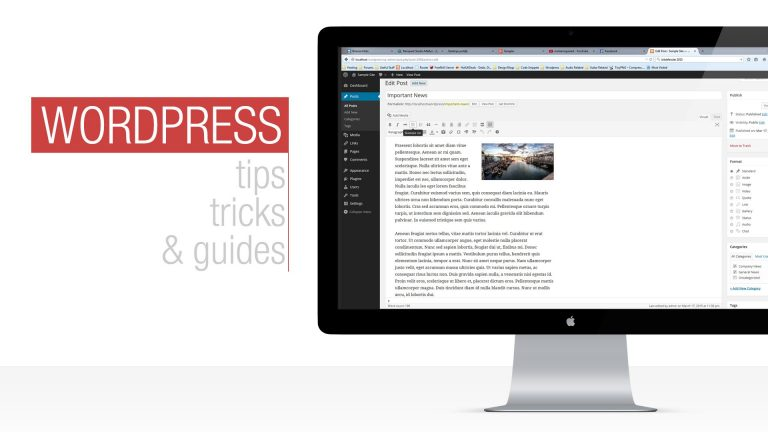 Read more about the article WordPress Tutorial: Working with Posts