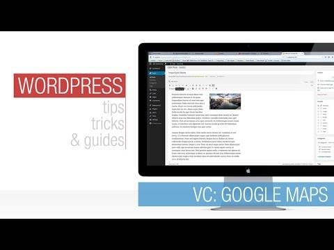 Read more about the article WordPress Tutorial: Visual Composer – Google Maps