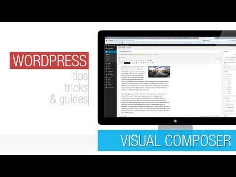 WordPress Tutorial:  Visual Composer Basics 2 – Front End Editor