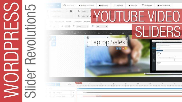 Slider Revolution 5: Video Sliders