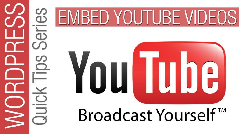 Read more about the article WordPress Quick Tips: Embed YouTube Video