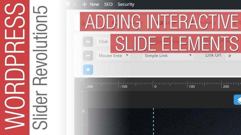 How To Add Interactivity to Slider Revolution 5 for WordPress
