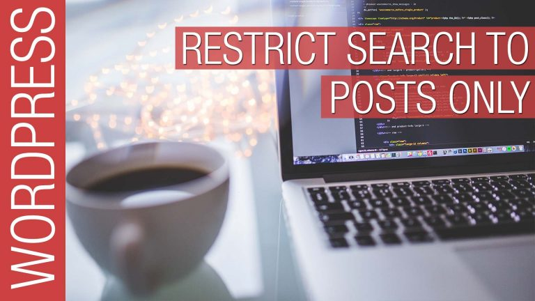 Read more about the article Restrict Search Results to Pages or Posts in WordPress