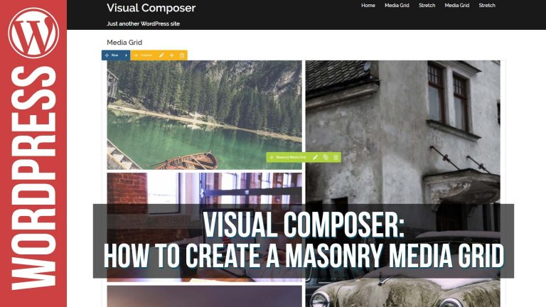 Read more about the article Visual Composer Masonry Grid Element Builder Tutorial