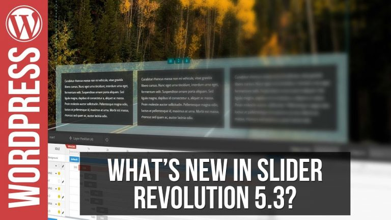 What's New In Slider Revolution 5.3 – Object Library, Layer Groups & More