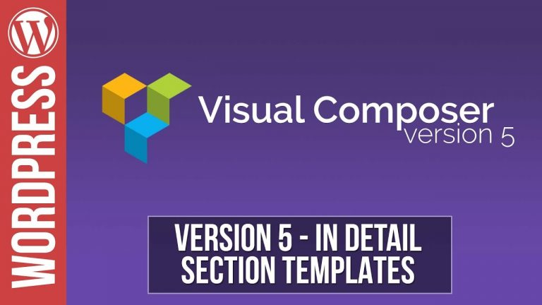Read more about the article Visual Composer: How to Create Section Templates