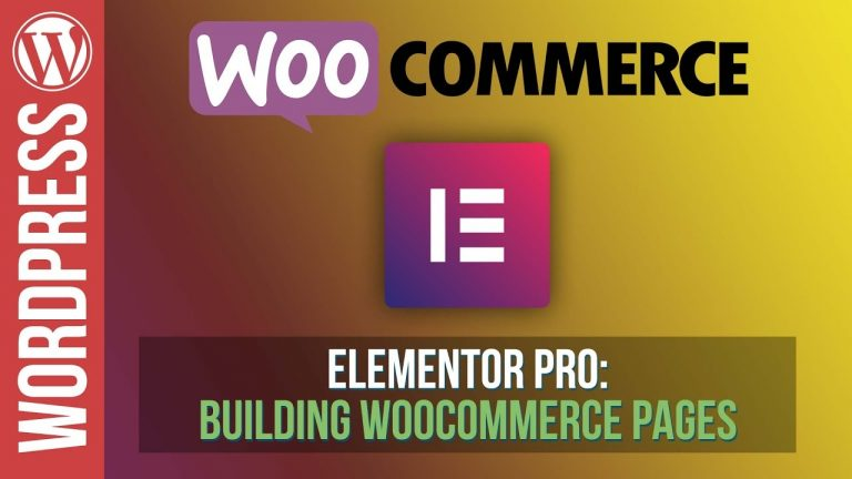 Read more about the article How To Build Amazing Woocommerce Pages with Elementor Pro