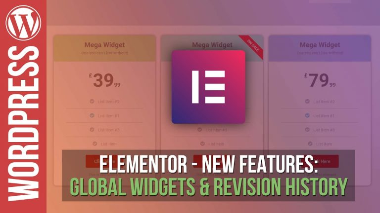 Read more about the article Elementor Pro for WordPress: Pricing Tables & Background Gradients