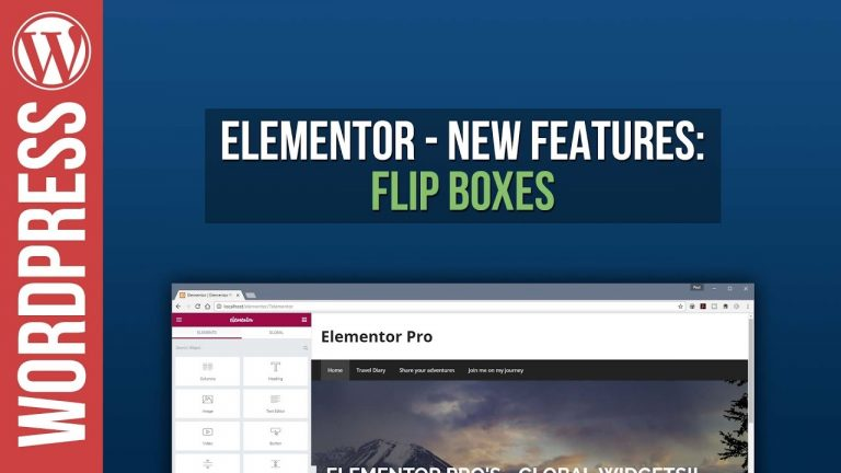 Read more about the article Elementor for WordPress: Flipbox Tutorial