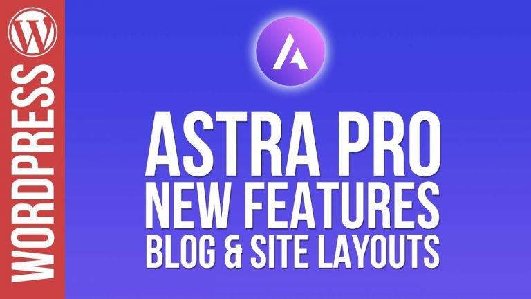 WordPress: Custom Blog Pages with Astra Pro Theme!