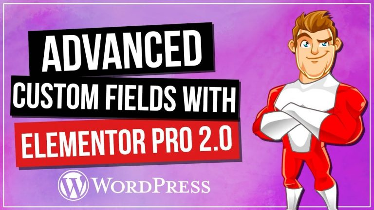 Read more about the article Advanced Custom Fields (ACF) & Elementor Pro 2.0