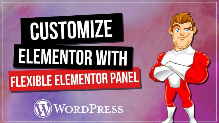 Read more about the article Flexibile ELEMENTOR Panel – Customise Your Interface!