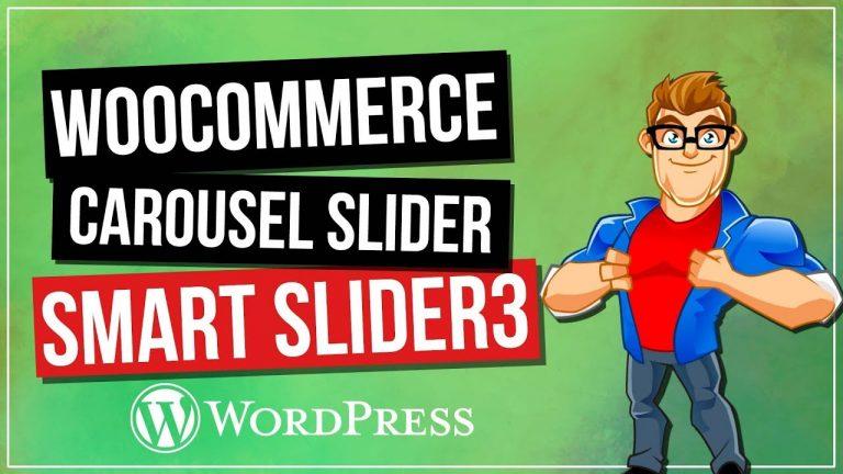 WooCommerce Dynamic Slider with Smart Slider 3