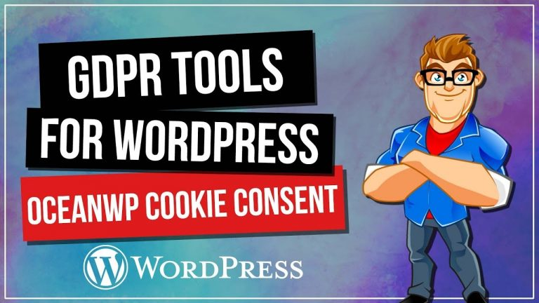 WordPress GDPR: OceanWP Cookie Consent Add-On