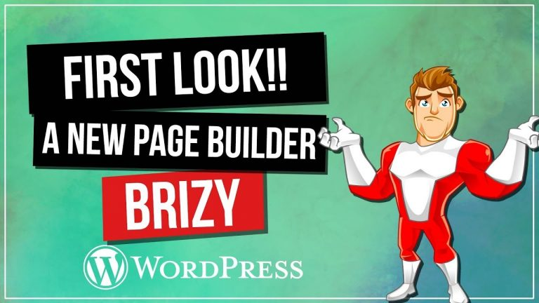 Brizy – Another Free WordPress Page Builder