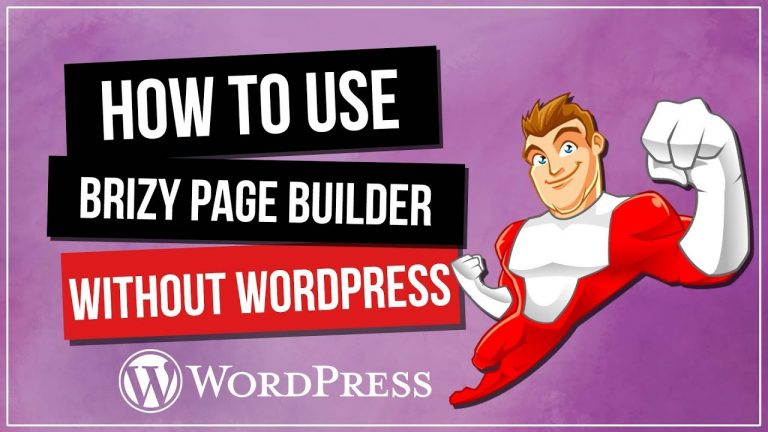 How to Use Brizy Page Builder WITHOUT WordPress