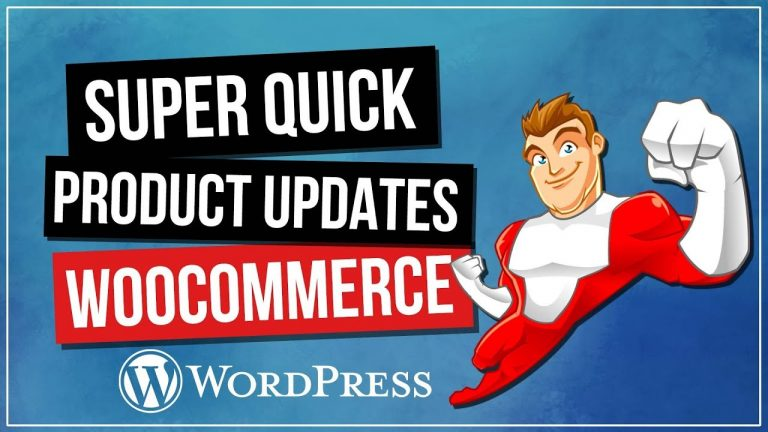 Read more about the article WOOCOMMERCE: Product Updates Done Super Quick!