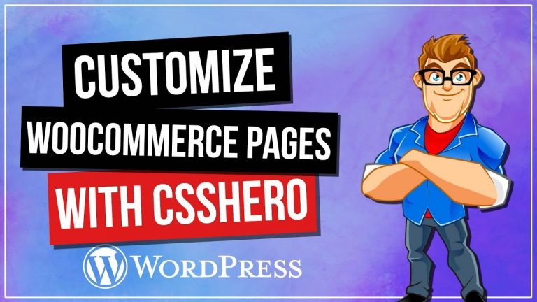 Read more about the article CSSHero: How To Customize WooCommere Pages