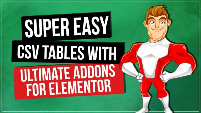 Read more about the article WordPress Tables Plugin – Ultimate Addons for Elementor
