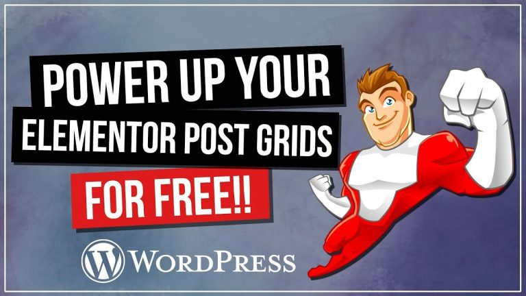 Read more about the article Elementor Post Grid FREE Plugin | Customize Your Post Grid TODAY!