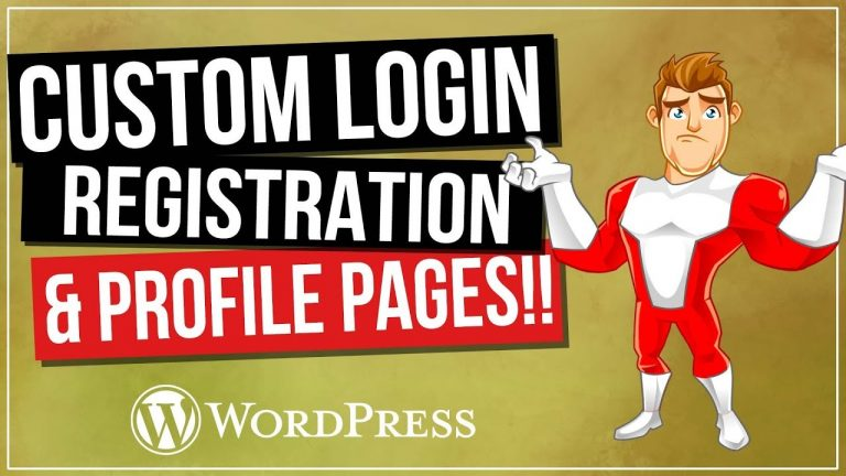 Read more about the article WordPress Login And Registration Pages | Customize Your Website for FREE