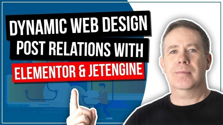 Dynamic Website Using WordPress & JetEngine – Post Relationships