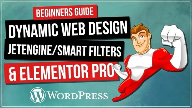 How To Create Dynamic WordPress Website | Jet SmartFilters & Jet Engine