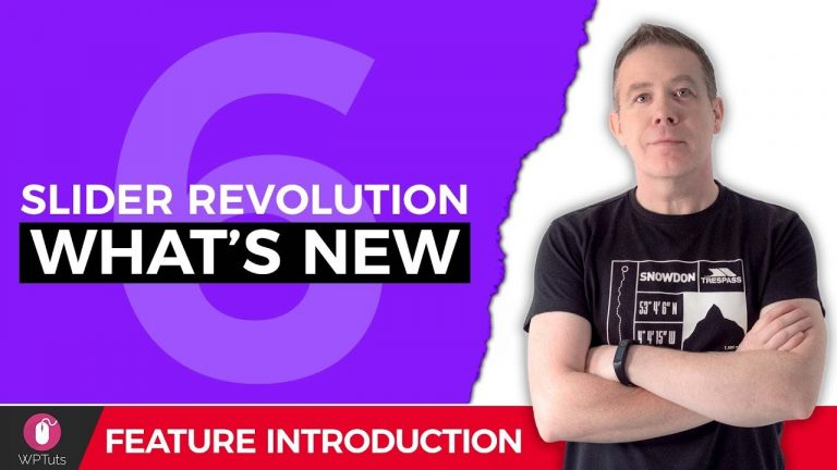 Slider Revolution – Introduction to Version 6