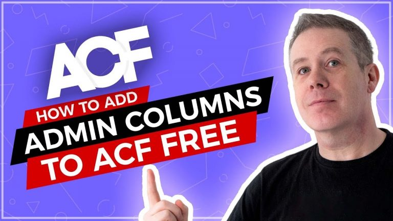 Read more about the article Advanced Custom Fields – Custom Admin Columns for FREE