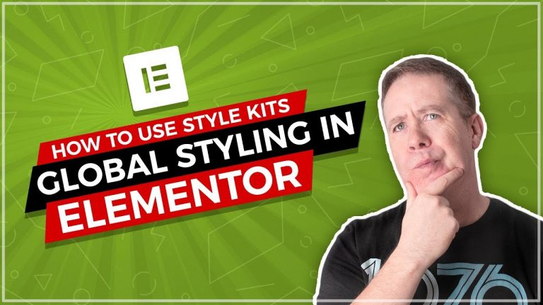 Elementor Global Styles with AnalogWP Style Kits