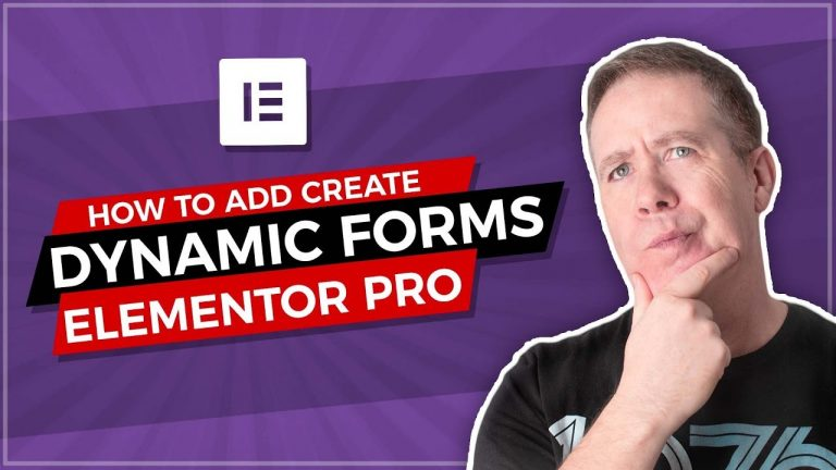 Elementor Dynamic Forms with Elementor Pro