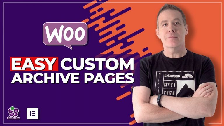 Create a custom WooCommerce Product Archive Elementor Pro & Elementor Custom Skin