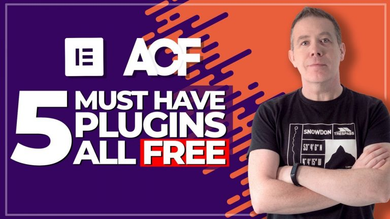 5 MUST HAVE Free ACF & Elementor Pro Plugins
