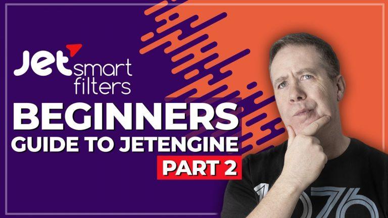 Crocoblock JetEngine for Beginners – Integrating JetSmartFilters