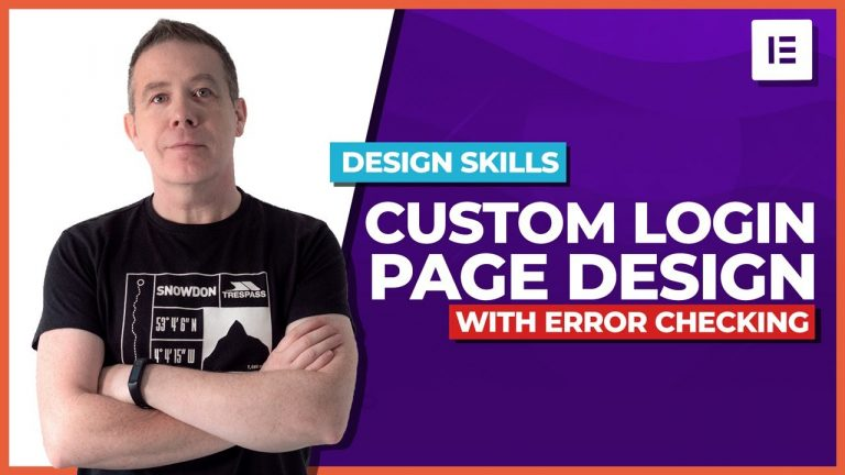 Read more about the article How to create a WordPress Login Page with error checking | Elementor Pro!