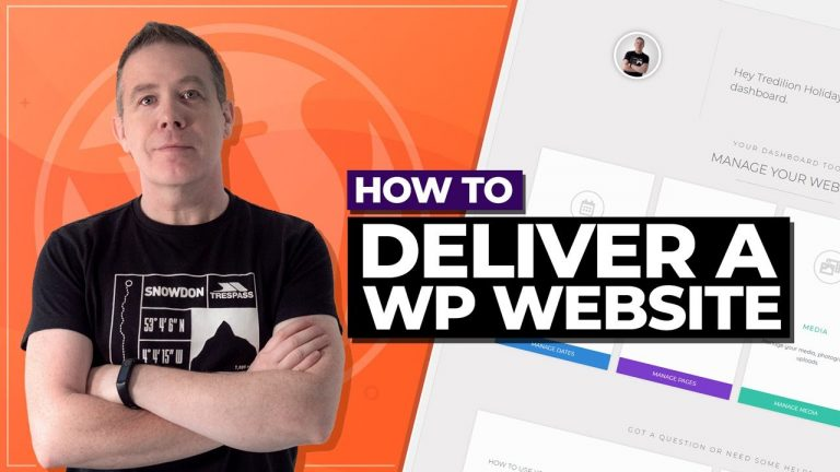 Read more about the article How to Deliver a WordPress Website to Client