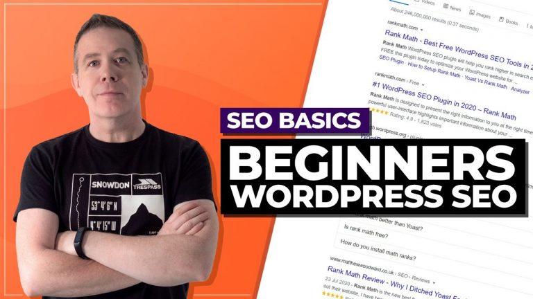 WordPress SEO 2020 | Beginners Guide with RankMath 2020
