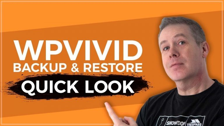 Read more about the article WordPress Backup And Restore with WPVivid for FREE