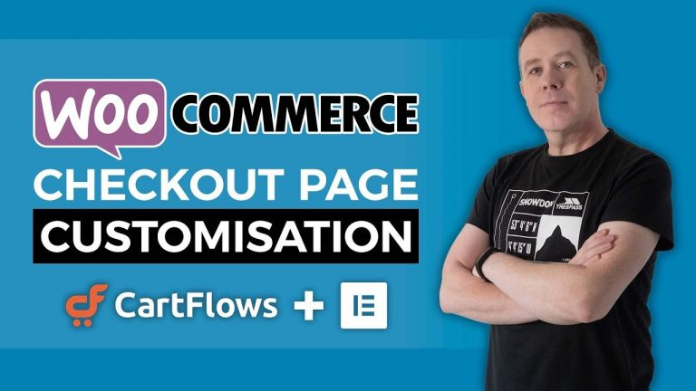 Woocommerce Checkout Page Customization with Elementor & CartFlows