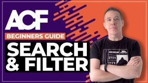 Advanced Custom Fields Elementor Pro | Search & Filter Tools