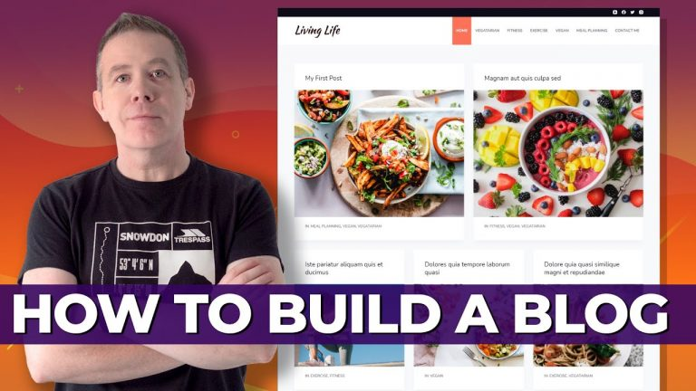 How To Build A Blog With WordPress
