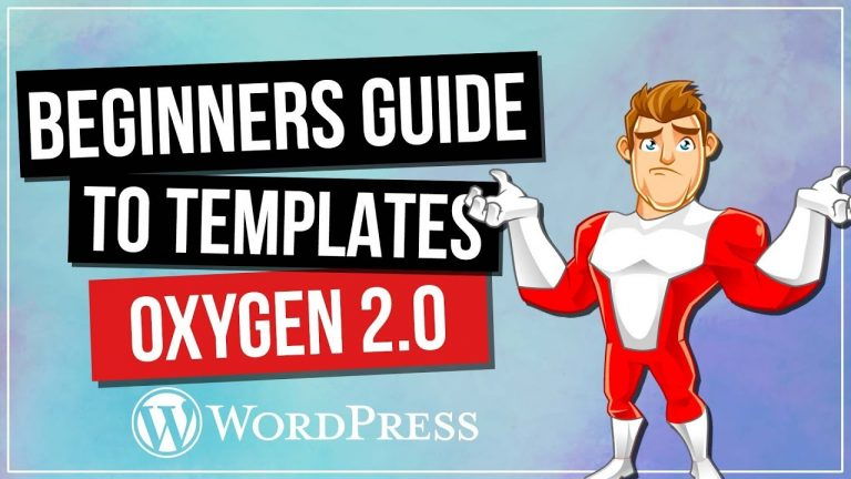 Read more about the article Oxygen 2.0: Custom Post & Archive Templates – Beginners Guide