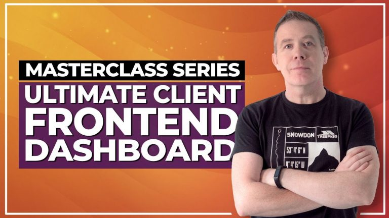 Create the ULTIMATE WordPress Custom Frontend Dashboard for Clients | Elementor Pro