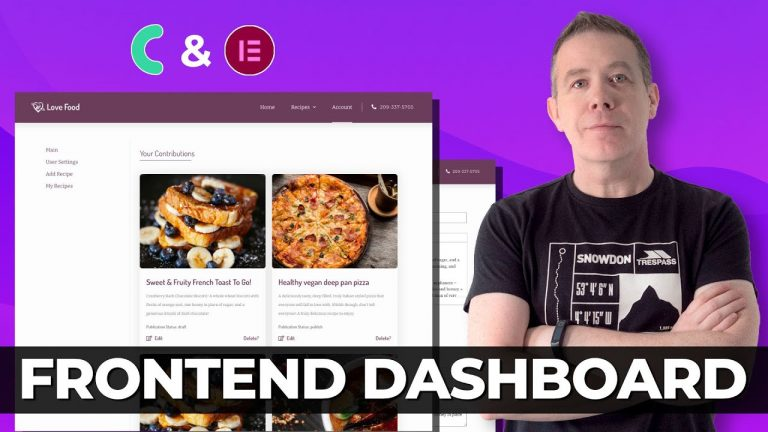 Read more about the article Frontend Dashboard Elementor & JetEngine | Listing Website Part 2