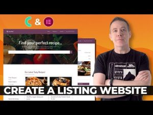 Create a Listing Website WordPress & JetEngine