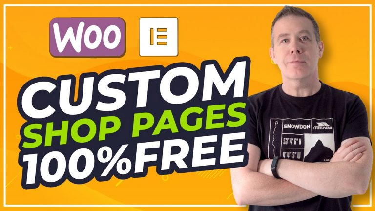 Read more about the article WooCommerce Custom Shop Page Design with Elementor FREE