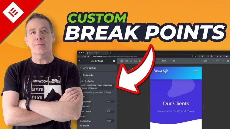 Read more about the article Elementor Custom Break Points – AT LAST! Sort Of!