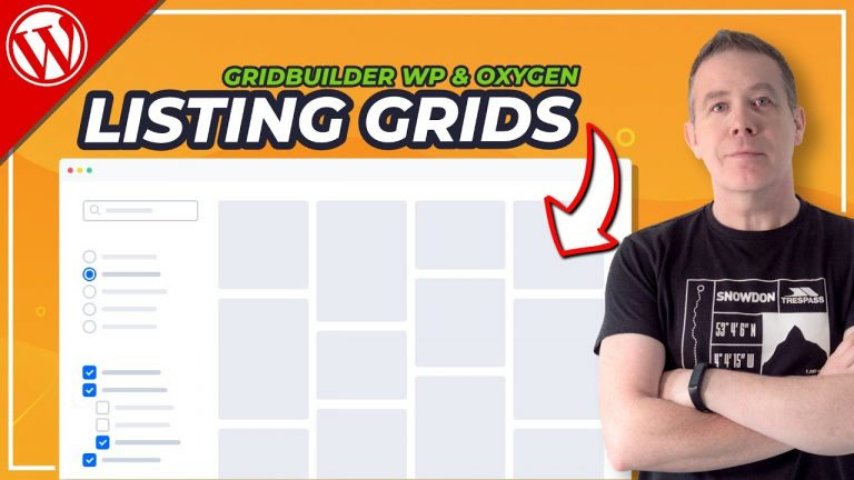 Read more about the article WordPress Listing Website with GridBuilder WP & Oxygen